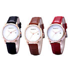 Luxury New Sport Dress Casual Date Women Waterproof Leather Watch Wristwatch