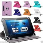 "360"" Rotating Synthetic Leather Universal Tablet Folio Case for All 7"" Tab"