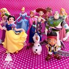 DISNEY CHARACTERS PRINCESS FROZEN TOY STORY JAKE PIRATE JESSE OLAF cake toppers