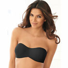 Lilyette Tailored Minimizer Strapless Multi-Way Underwire Bra 939 Black