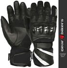SALE Weise Oslo Textile Mesh Leather Short Waterproof Motorcycle Glove Gloves