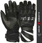 Weise Oslo 3 EXTRA LARGE Leather Short Waterproof Motorcycle Glove Gloves 3XL