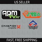D.Va Inspired APM Vinyl Decal Champion Fighting Sponsor Sticker Stickers dva