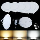 White 6W 9W-12W 15W-21W Dimmable LED Recessed lamp Ceiling Panel Down Light Bulb