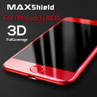 Red 3D Full Cover Tempered Glass Screen Protector for iPhone 8/7  7/8 Plus