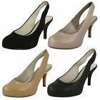 Ladies Clarks 'Drum Major' Stiletto Shoes Label ~ K