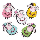 Wooden Novelty Wooly Sheep Buttons 43 x 31mm.Crafts and Sewing Free P&P