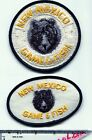 New Mexico Game & Fish patch (2) wildlife warden police conservation MINT