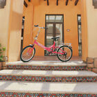 "High Carbon 20"" Portable Folding Bicycle Sport Bike Outward Travel Lightweight"