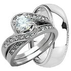 ROUND CUT VVS1 1.07 CT DIAMOND SOLITAIRE ENGAGEMENT WEDDING RING14KT WHITE GOLD