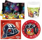 ANGRY BIRDS STAR WARS Geburtstags Party Auswahl - Tafelgeschirr & Dekorationen