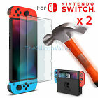 1/2 Pcs Premium Tempered Glass Screen Protector Guard Shield For Nintendo Switch