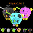 12-Side Fidget Cube Toy Anxiety Stress Attention Relief Puzzle Adult Kids Gift