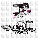 D.Va BIG MEKA Rally Stickers Sticker Vinyl Decal Dva Anime