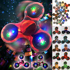 3D Camo Fidget Hand Spinner EDC tri spinners Focus Toy ADD anxiety For Kid Gifts