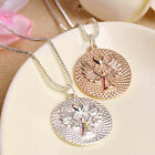 Make a Wish Angel Gold Necklace Gift Ladies Blessing Love Friendship Angels 97K