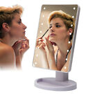 16 LED Makeup Mirror Illumination Cosmetic Mirror Touch Screen Make Up Mirror