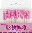 AGE 15 - Happy 15th Birthday PINK GLITZ - Party Banners, Balloons & Decorations