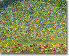 HUGE Klimt APPLE TREE Stretched Canvas Giclee Repro Print ALL SIZES