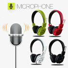 Bluetooth Wireless Headphones Stereo Foldable Headsets For iPhone Samsung w/ Mic