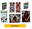 STAR WARS - Colouring Stickers Activity Pads Gift Sets Pencil Kids Party Xmas