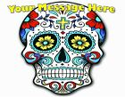 SUGAR SKULL PARTY!  Edible Cake Topper Frosting Sheet - quarter half round sizes