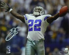 EMMITT SMITH AUTOGRAPHED/SIGNED DALLAS COWBOYS 16X20 PHOTO ARMS UP 14545 JSA