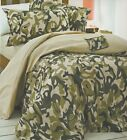 Happy Kids Camouflage Quilt Cover Single Double Military