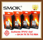 Authentic SMOK TFV12 Coil V12-Q4/X4/T6/T8/T12/RBA for V12 Cloud Beast King Tank