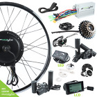 "ebikeling 48V 1200W Direct Drive Front&Rear 26"" Electric Bicycle Conversion Kit"