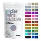 Hemway Glitter Paint Wall Additive for Emulsion (Choose 32 colours) Wallpaper