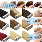 40Pieces Seamless Tape in Skin Weft Virgin Remy Brazilian Human Hair Extensions