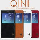 NILLKIN QIN Series Genuine Flip Wallet Leather Case For Samsung Galaxy Note 5