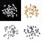 100 pcs 4 color 5*3.5 mm End Cord Tube Tip Caps End Rope Diy Jewelry Accessories