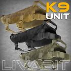 LIVABIT 1000D Canine Harness Police K9 Dog Tactical Molle Vest