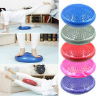 Yoga Balance Board Disc Gym Stability Posture Cushion Wobble Pad with Pump New
