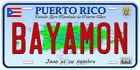 Puerto Rico Aluminum Any Name Personalized Novelty Car License Plate