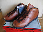 Piloti Men's Driving Shoes Size 8 Brown Leather BNIB