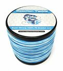 Внешний вид - Reaction Tackle High Performance Braided Fishing Line / Braid - Blue Camouflage