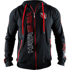 Hayabusa Prime Zip Up Hoodie - Black/Red