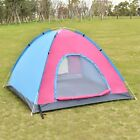 Coloful Waterproof 2-3 Person Camping Tent Outdoor Family Hiking Beach US