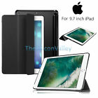 Ultra Thin Smart Magnetic Leather Stand Folio Cover Case For Apple iPad 9.7 2017