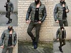 Young Fashion Herren Destroye Rocker Biker UK STYLE Jeans Röhre Hose Skinny FIT