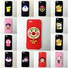 Soft Slicone Phone Case Cover With Janpan Cartoon Charms Fit for Iphone 5 /5S/SE