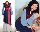 Mulan Dress Halloween Party Cosplay Costume Outfit Custom Made