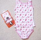 GIRLS PRETTY VEST AND BRIEFS SET FROM JUST GO AGE 6-8 BNWT
