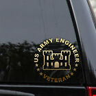 US Army Engineer Corps Decal Sticker Veteran Car Truck Window Wall Laptop