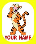 WINNIE THE POOH & FRIENDS PERSONALISED KEYRING BAG TAG CHOICE OF CHARACTERS