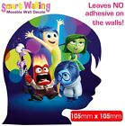 Inside Out  Wall Sticker Decor Movable Removable Decal Reusable Stickers Kids
