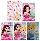 GEM FAIRIES Birthday Cards - Gift Wrap Wrapping Paper Greeting Cards Ages 3 4 5